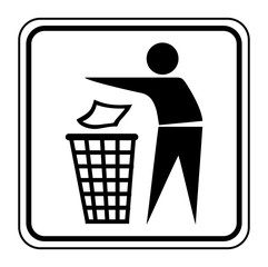 Logo poubelle.