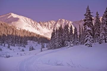 Wall Mural - Scenic Winter Colorado