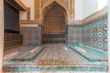 Papiers peints Maroc Saadian Tombs in Marrakesh, Morocco