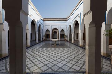 Tuinposter Algerije The Palace of Al Bahia, Marrakesh, Morocco