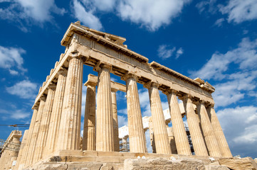 Photo sur Aluminium Athenes Parthenon on the Acropolis in Athens