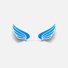 realistic design element: wing