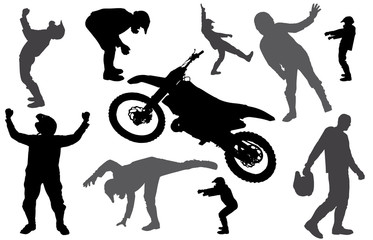 vector silhouette fmx