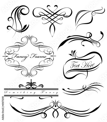 quotfancy lines 3quot stock image and royaltyfree vector files