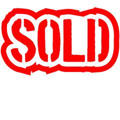 Sold Verkauft Stempel Reduziert