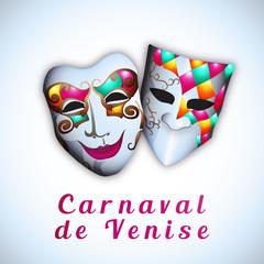 Carnaval de Venise - Illustration vectorielle