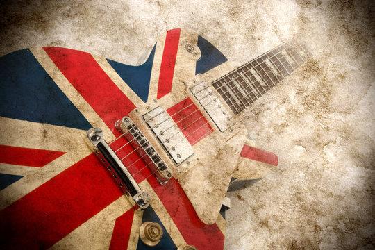 grunge british pop guitar