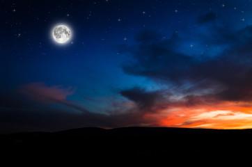 night background