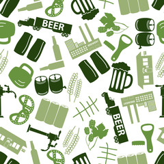 beer icon color pattern eps10
