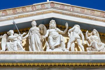 grek srhythm building with statues