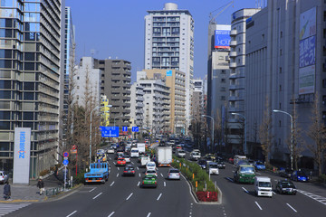 Minami Azabu 1-chome and Ninohashi Crossing Area