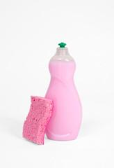 Detergents and sponge