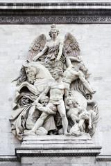 Sculpture on the Arch of Triumph, Paris