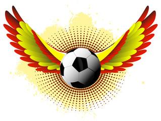 Spain soccer wings