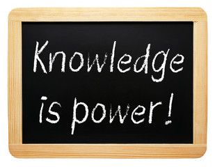 Knowledge is power !