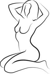 naked woma