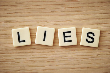 lies word