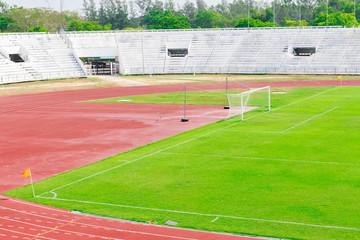 Generic football and general sports stadium
