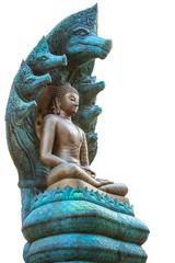 Buddha statue at naga covered