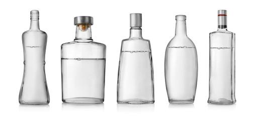 Fototapeta Bottles of vodka obraz