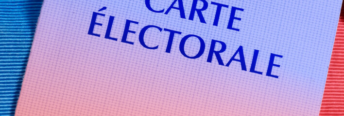 carte électorale,prochaines élections