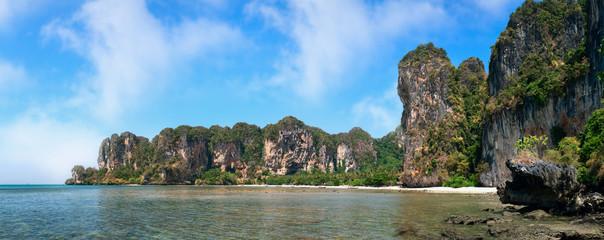 Phra Nang beach in Krabi province, Thailand