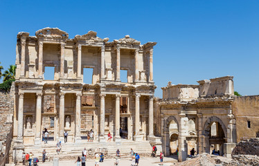 Library of Celsus, Ephesus, Turkey