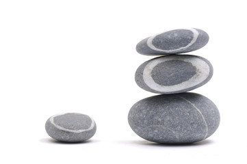 Pebble stones stack in balance
