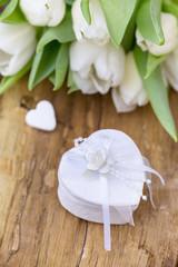 Hochzeit deko Ring Box