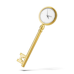 Golden key-clock