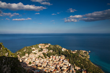 Wall Mural - Cityscape of Taormina