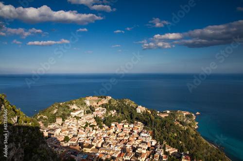 Fototapete Cityscape of Taormina