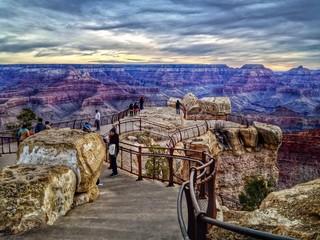 Sunrise at Mather Point Grand Canyon National Park Arizona USA