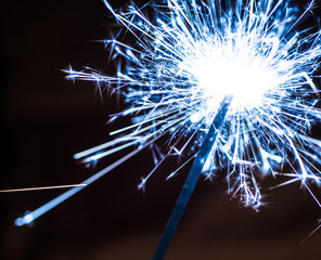 Blue Sparkler Party