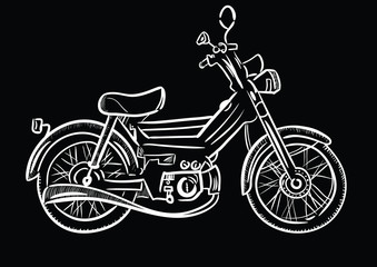 Moped sketch?