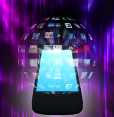 Smart Phone Video Sphere or Image Sphere
