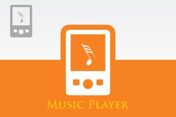 mp3 player – Vector icon
