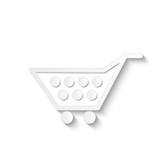 Shopping Cart, Vector Illustration
