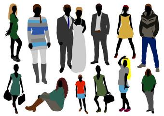 people color set