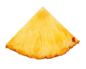 pineapple slice isolated