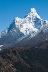 Mt.Ama Dablam on route to Everest base camp, Nepal