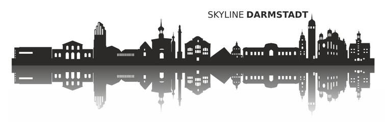 Darmstadt Skyline