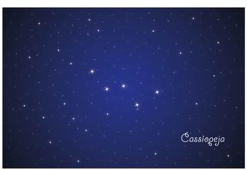 Constellation Cassiopeja