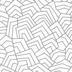 monochrome ancient seamless pattern