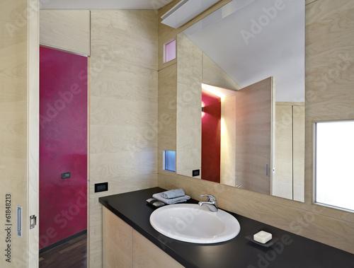 Bagno moderno con boiserie di betulla immagini e fotografie royalty free su file - Bagno con boiserie ...
