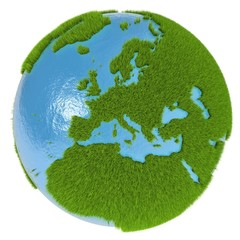 Europe on green planet