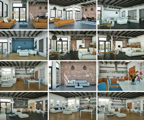 Bildersammlung - 12 Loftdesigns