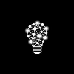 Light idea vector