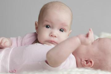 Twins babies