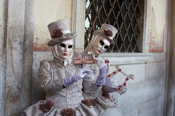 Venice carnival 2014 Wall mural